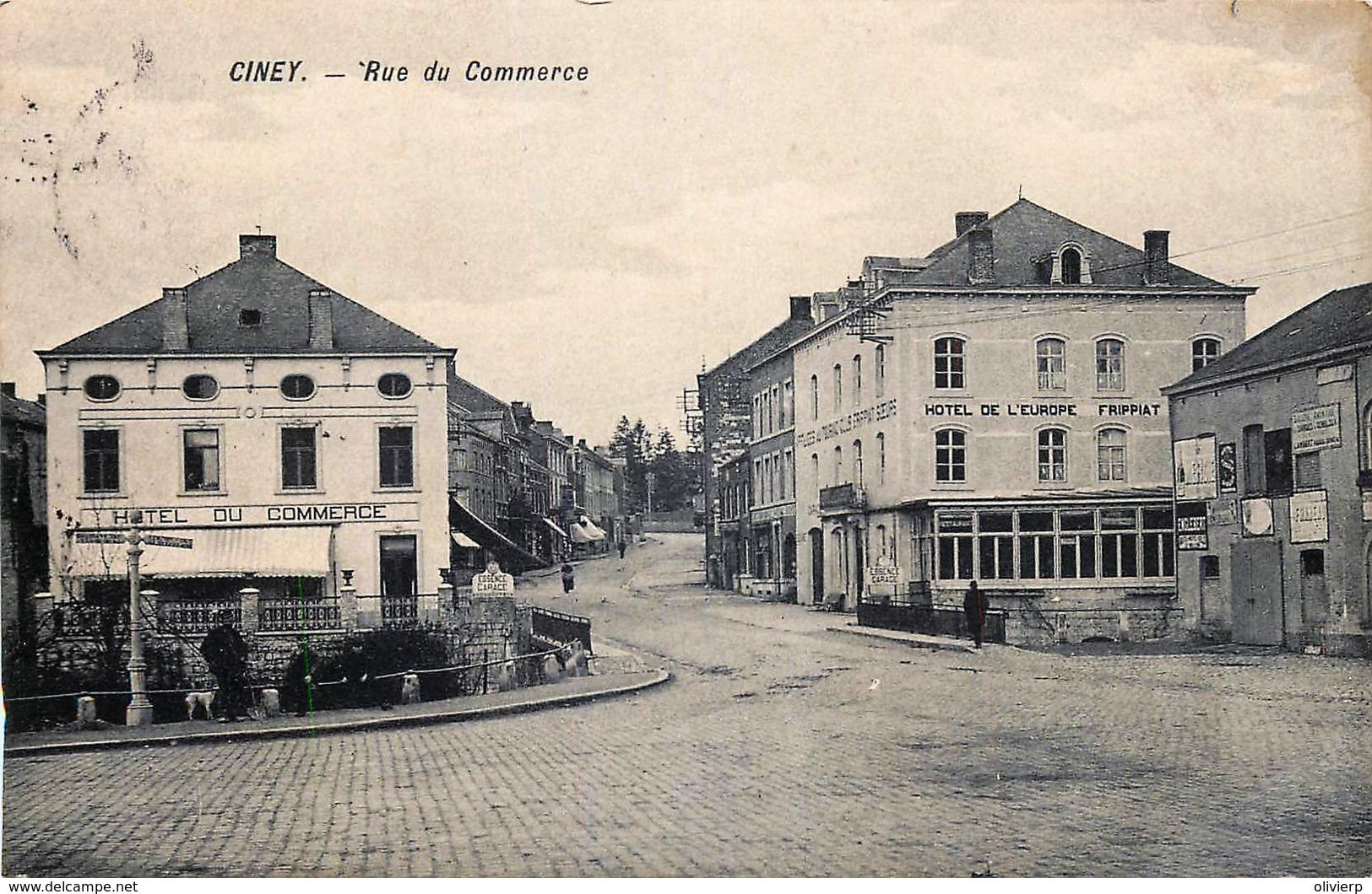 Belgique - Ciney - Rue Du Commerce - Ciney