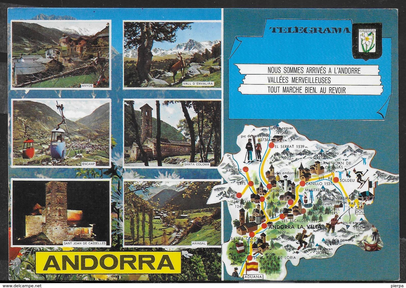 ANDORRA - VEDUTE - NUOVA - Andorra