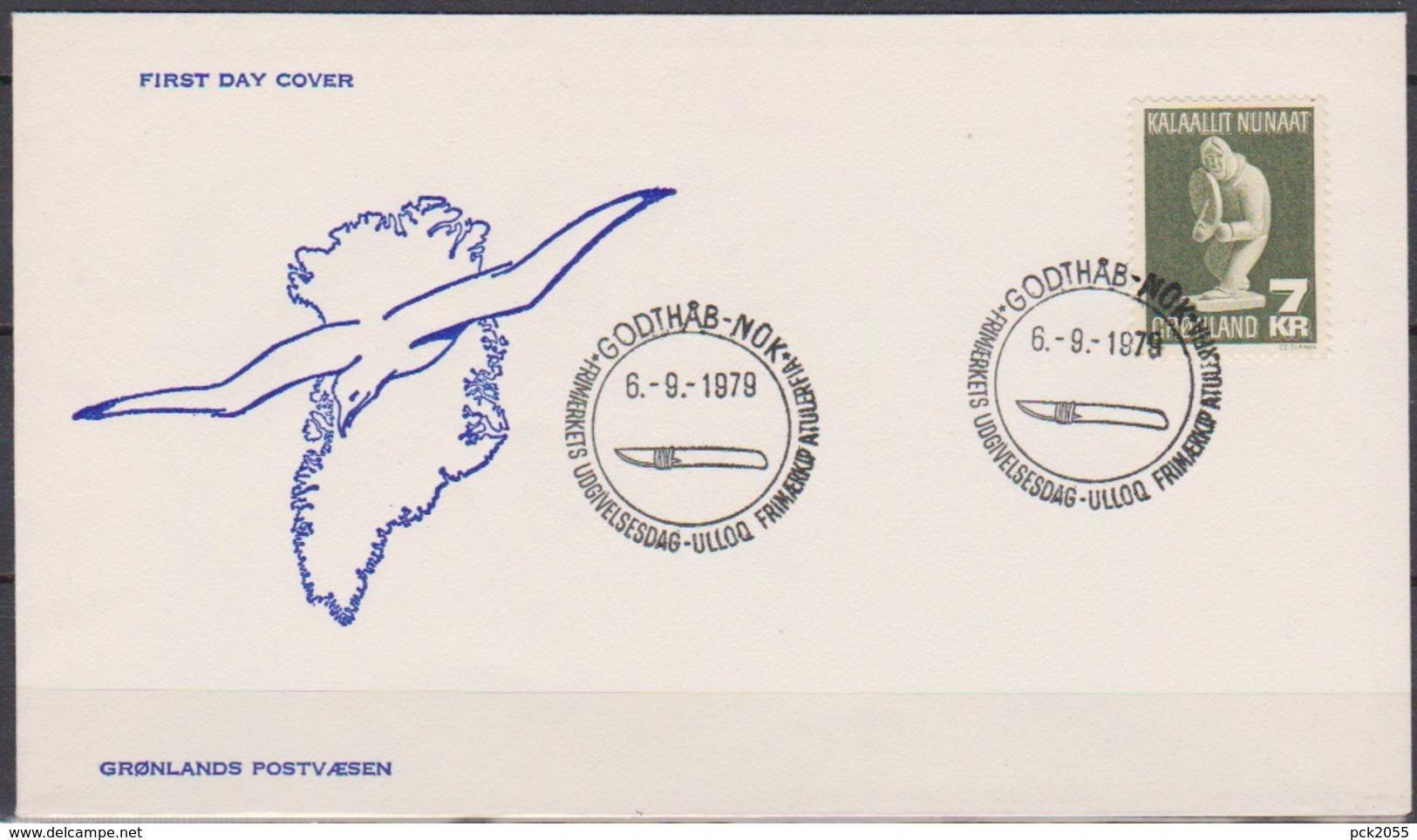 Grönland 1979 FDC Nr.117 Kunsthandwerk ( D 4345) Günstige Versandkosten - FDC
