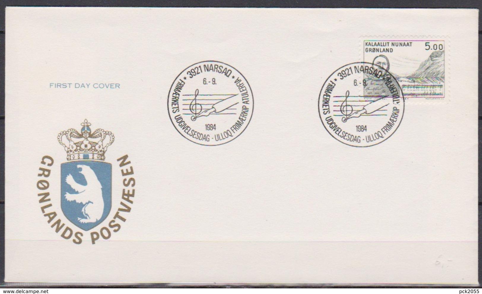 Grönland 1984 FDC Nr.153  Kunst ( D 1171) Günstige Versandkosten - FDC