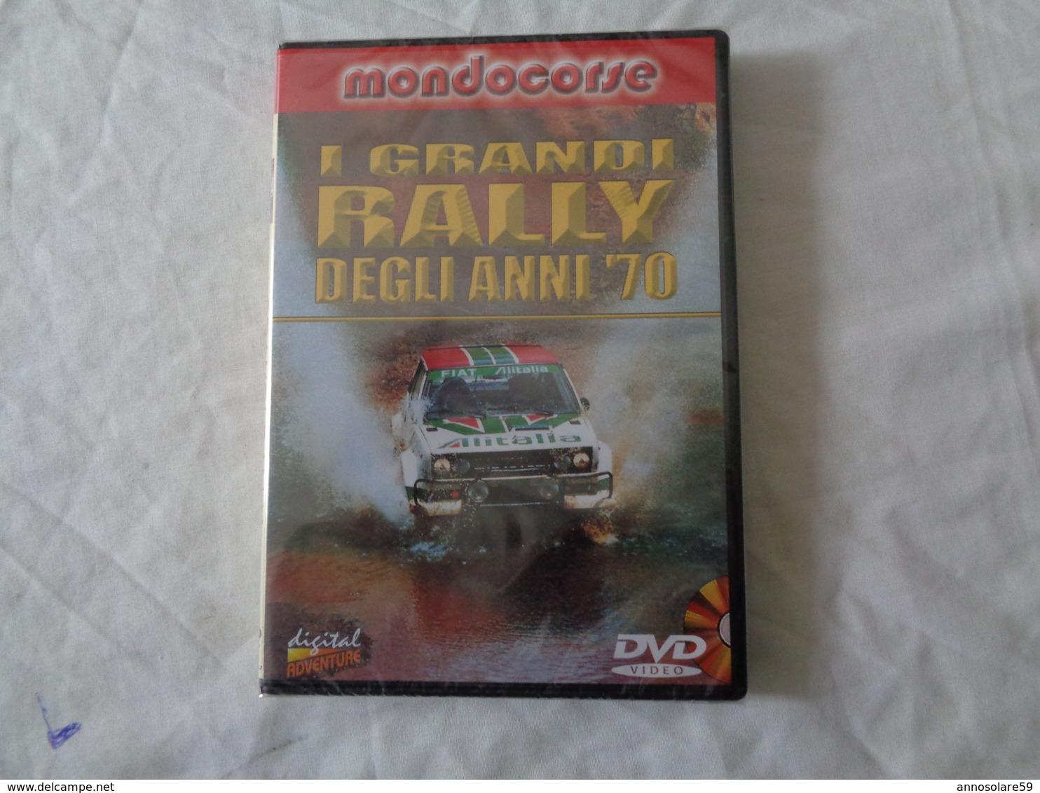 DVD VIDEO: I GRANDI RALLY DEGLI ANNI 70 - SIGILLATO - LEGGI - Sport