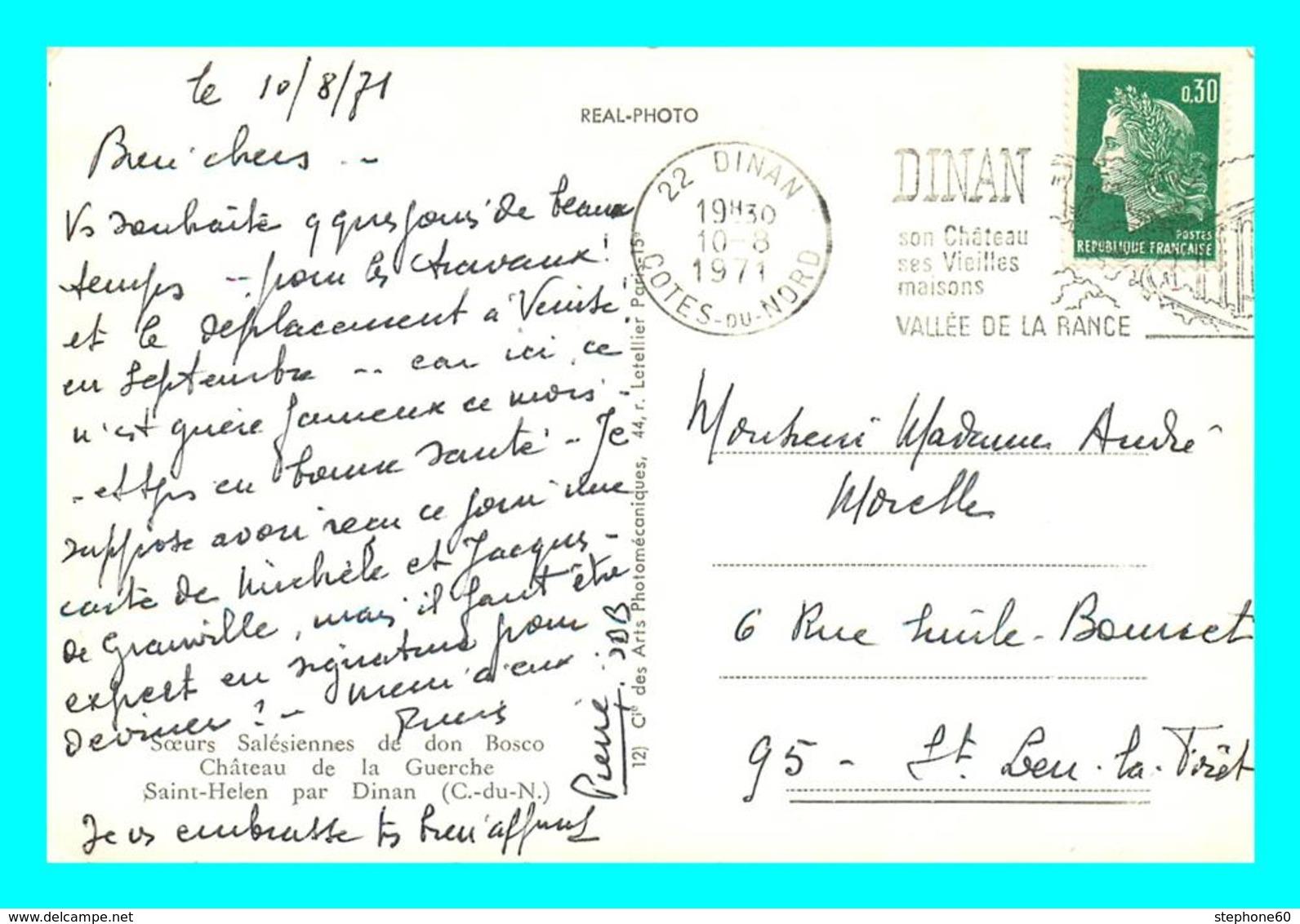 A769 / 075  22 - Chateau De La Guercge - Saint Helen Par Dinan - Autres Communes