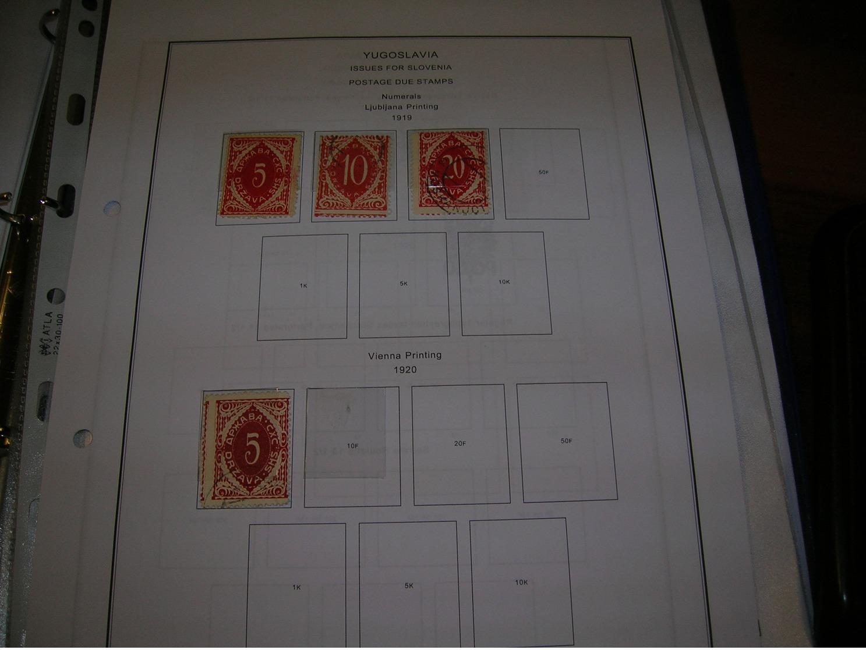 Jugoslavia Croatia E Slav. 1919 Emissione Slovenia  Postage  Scott.3L J1/3+See Scan On Scott.page; - Usati