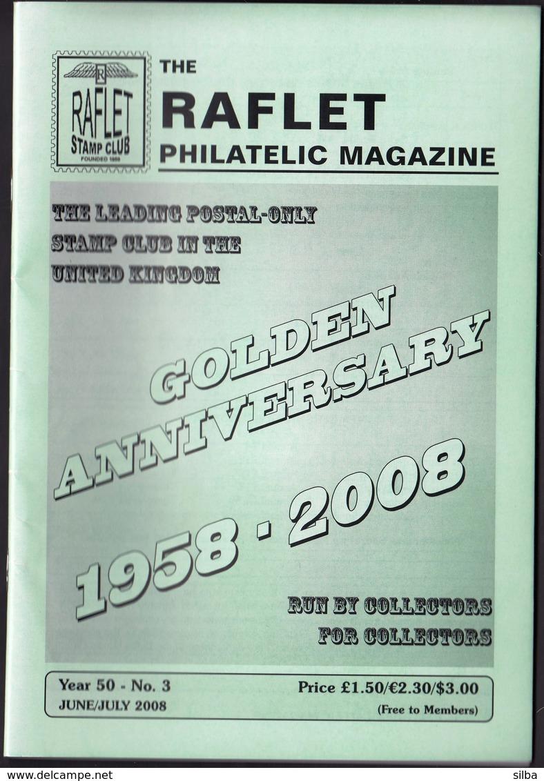 The Raflet Philatelic Magazine / June July 2008 - Engels