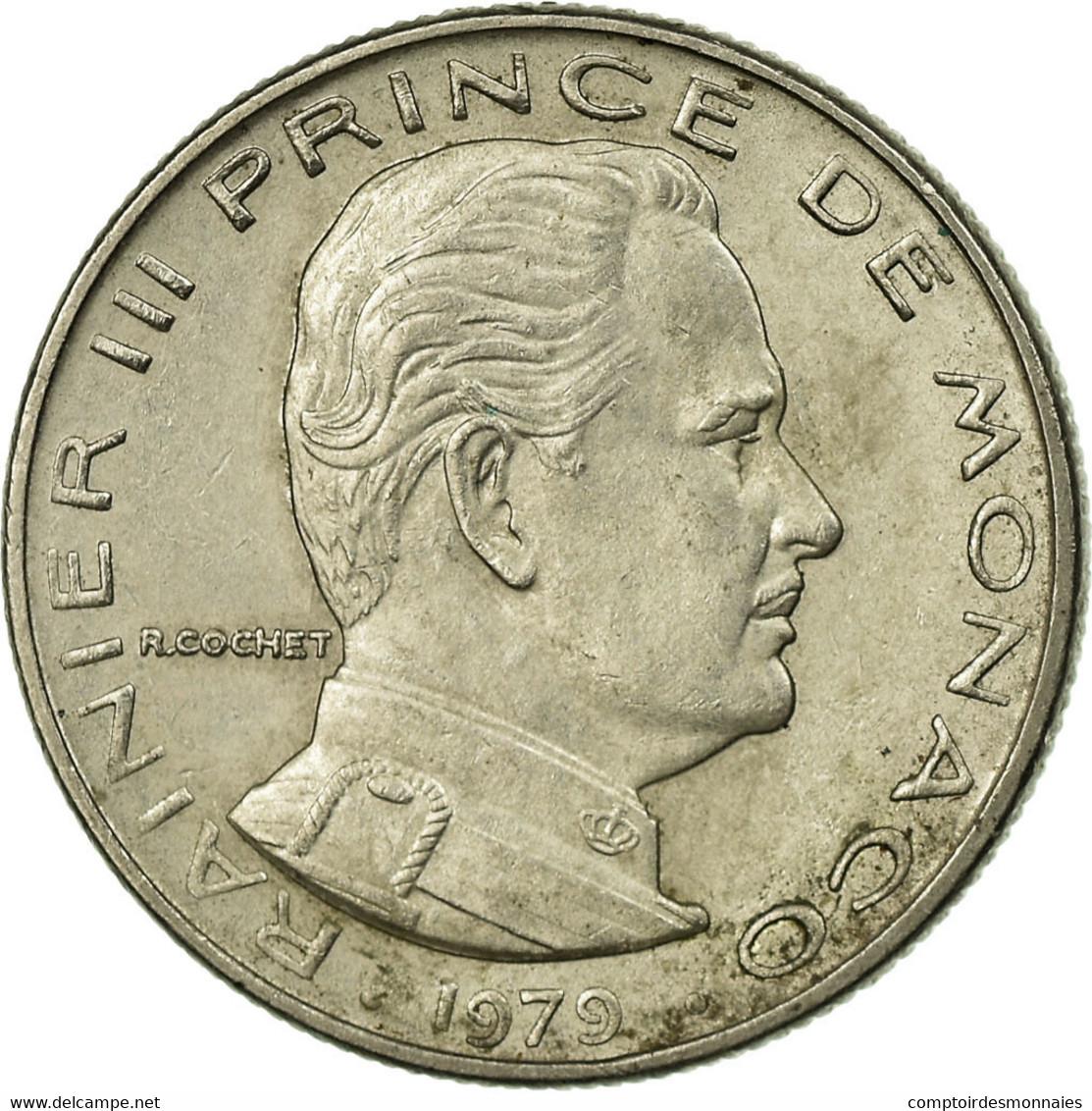 Monnaie, Monaco, Rainier III, 1/2 Franc, 1979, TB+, Nickel, Gadoury:MC 149 - 1960-2001 Nouveaux Francs