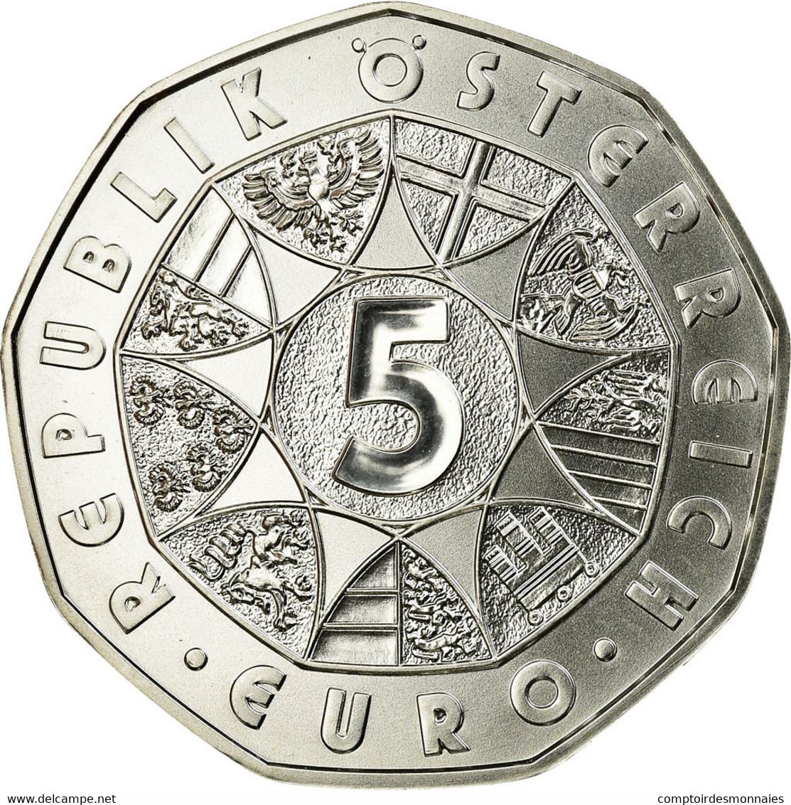 Autriche, 5 Euro, 2016, FDC, Argent, KM:3242 - Autriche