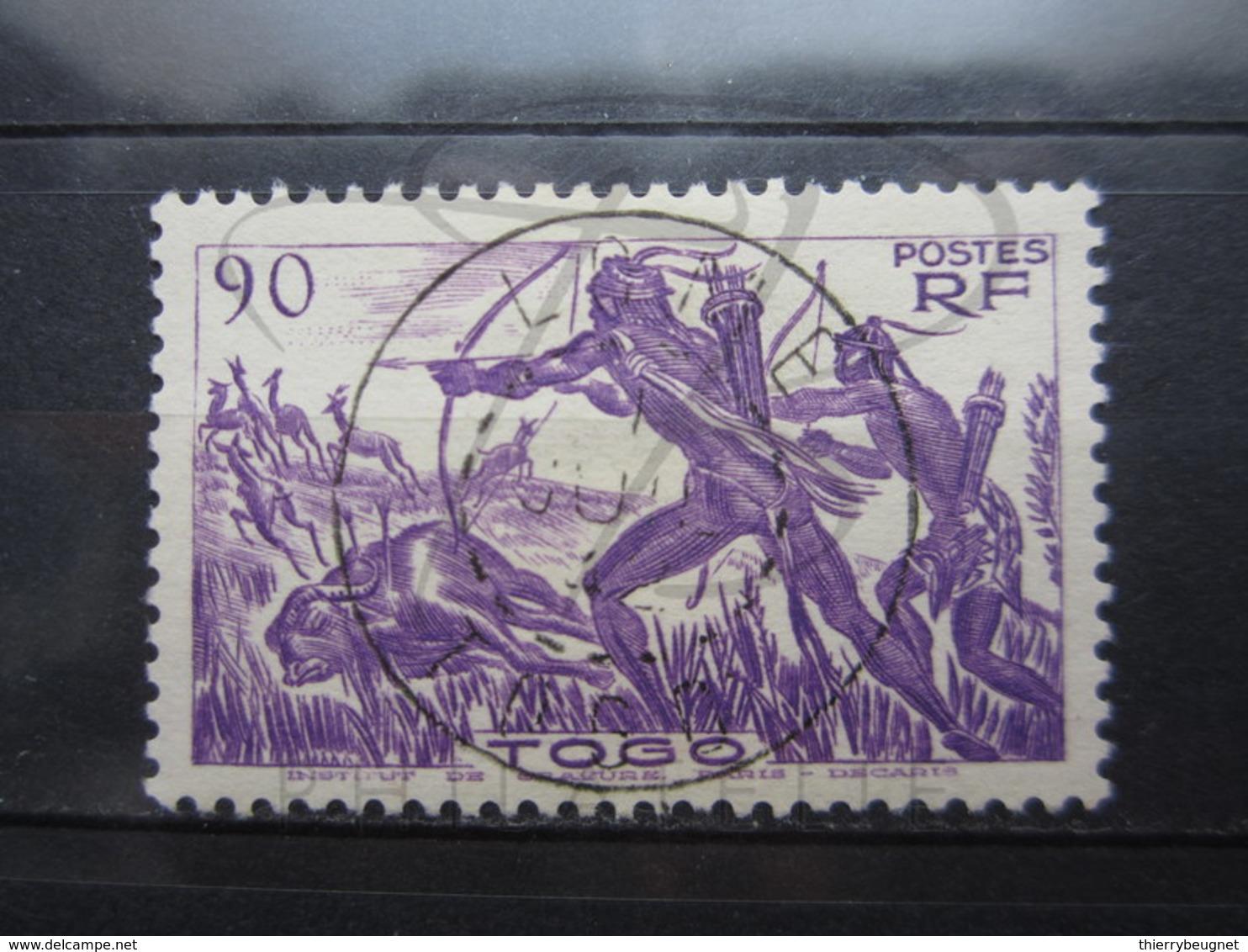 "VEND BEAU TIMBRE DU TOGO N° 196 , OBLITERATION "" LOME "" !!! - Togo (1914-1960)"