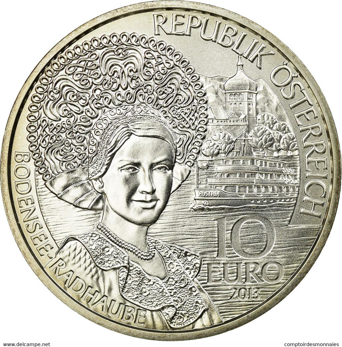 Autriche, 10 Euro, 2013, FDC, Argent, KM:3224a - Autriche