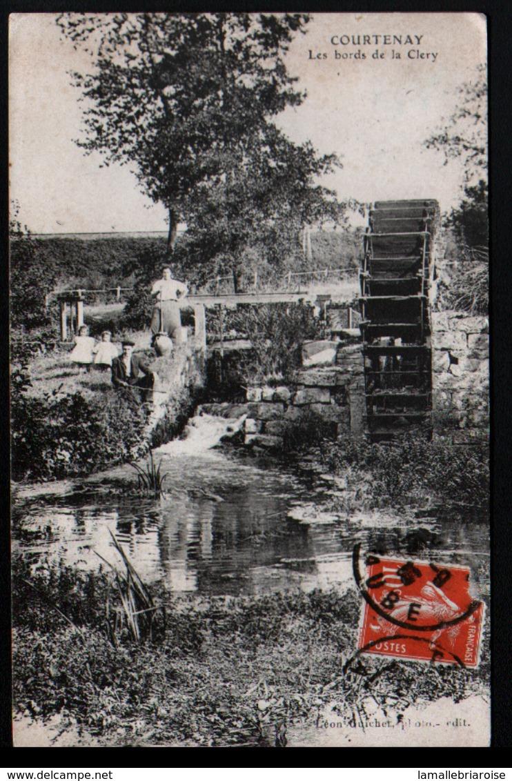 45, Courtenay, Les Bords De La Clery - Courtenay