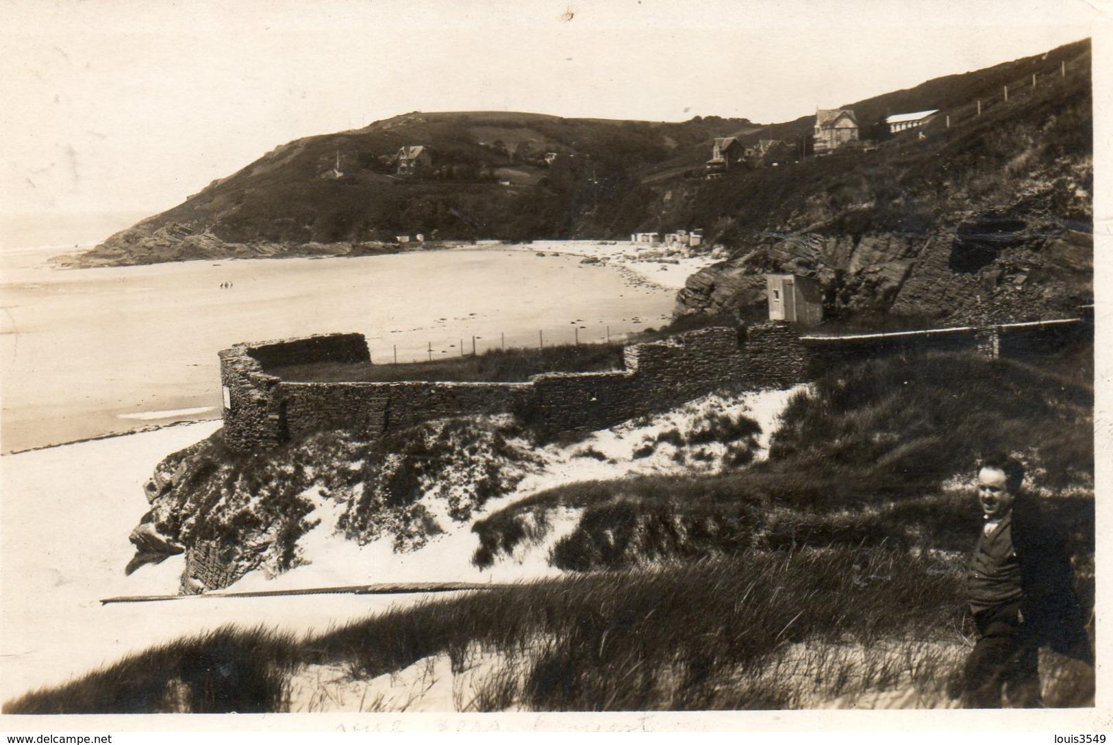 Carteret -   La  Plage  Et  Le Vieux  Fort. - Carteret