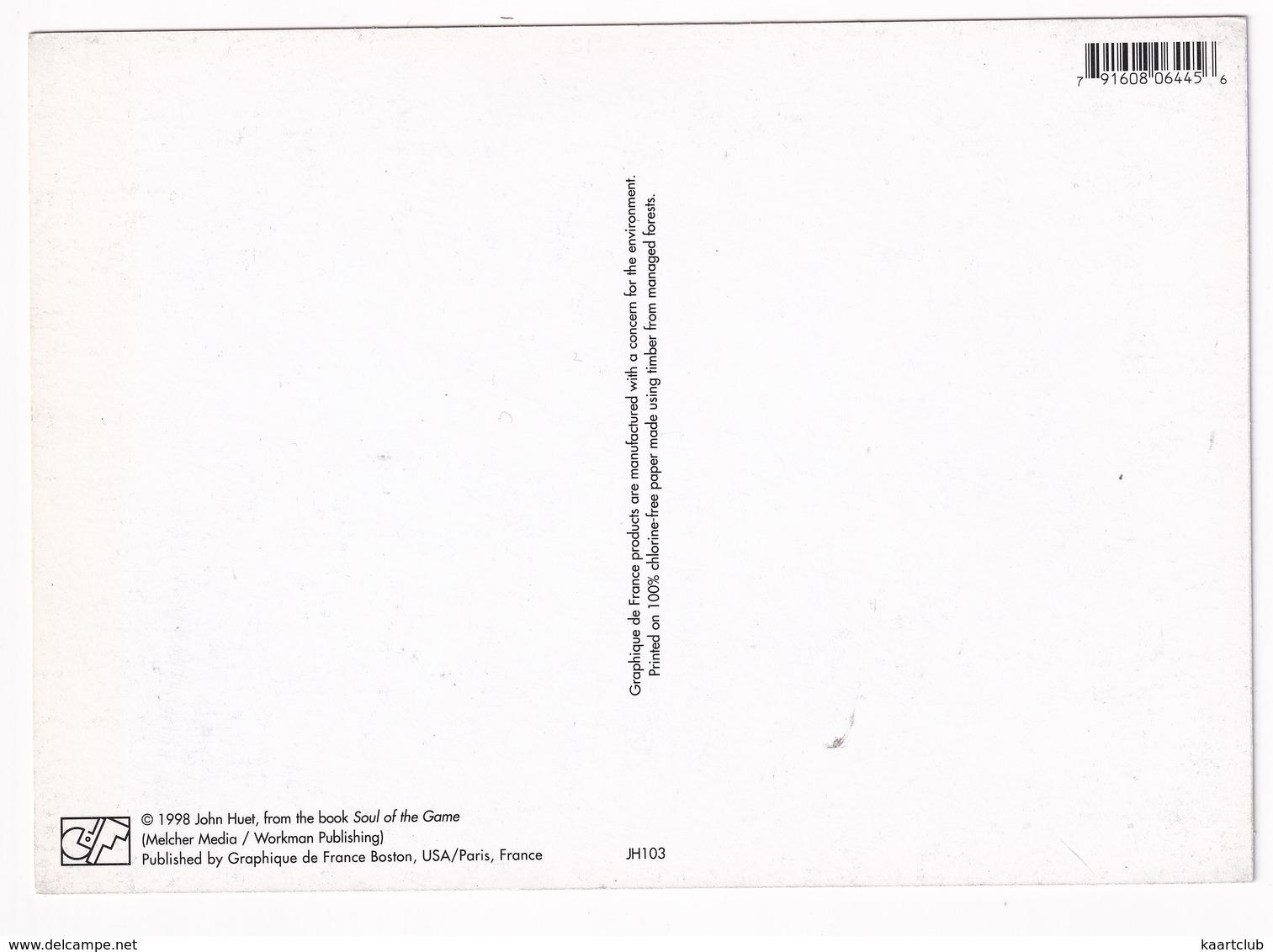 BASKETBALL JUMP - (1998 John Huet, From The Book 'Soul Of The Game') - USA/Paris, France - Basketbal