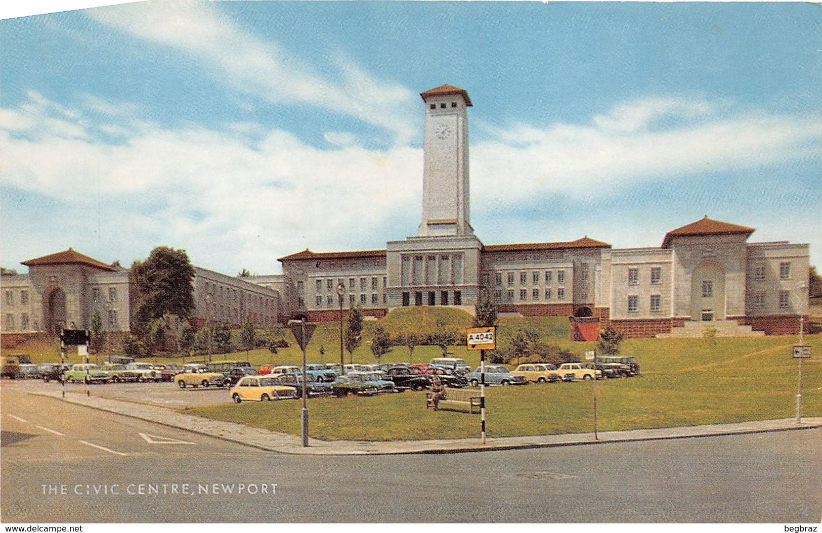 NEWPORT   THE CIVIC CENTRE - Pays De Galles