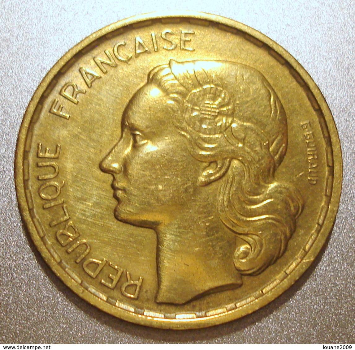 France - Pièce De Monnaie 20 Francs G. Guiraud 1950 B 4 Faucilles - France