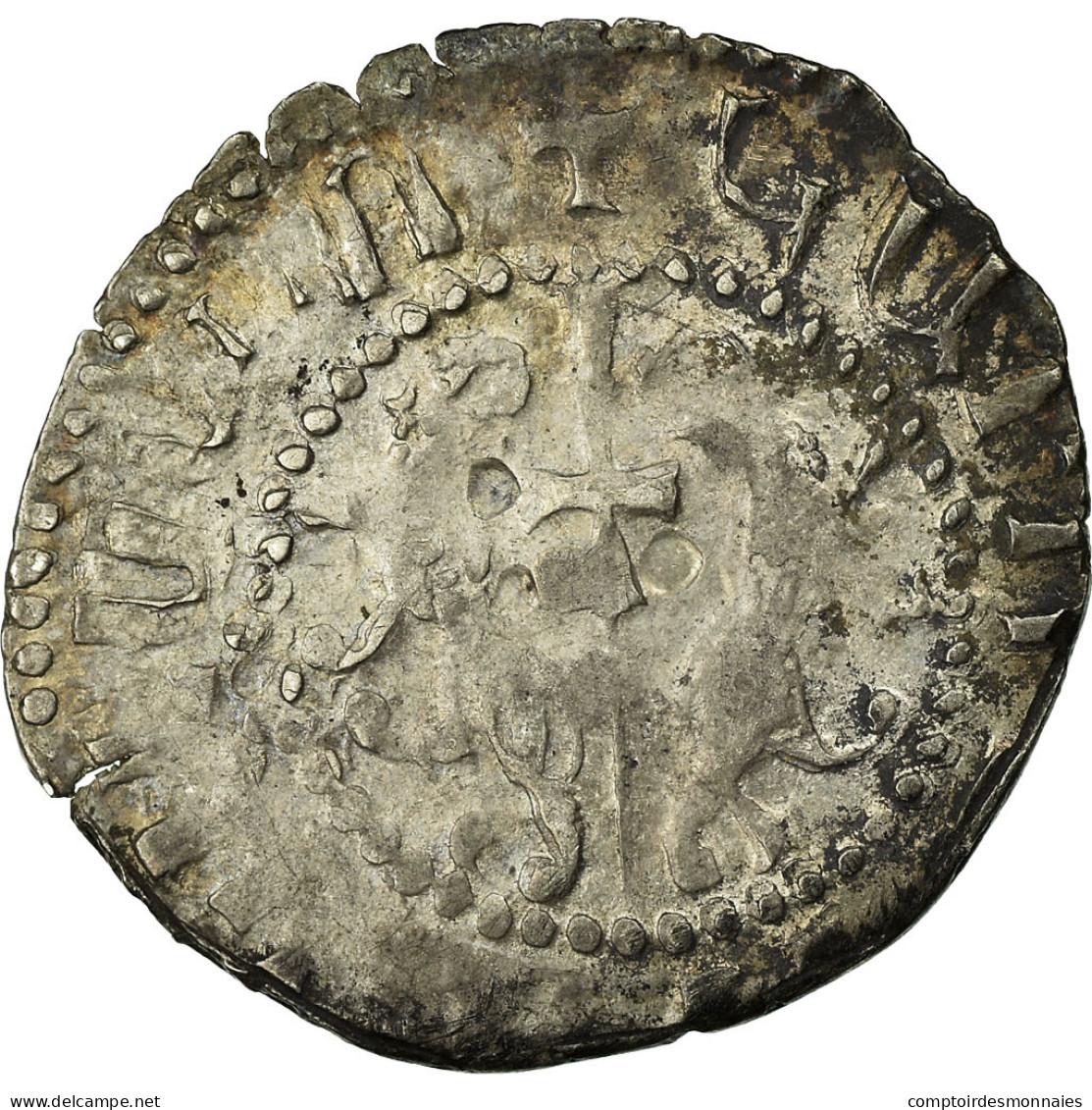 Monnaie, Armenia, Levon I, Tram, 1198-1219 AD, TB, Argent - Armenia