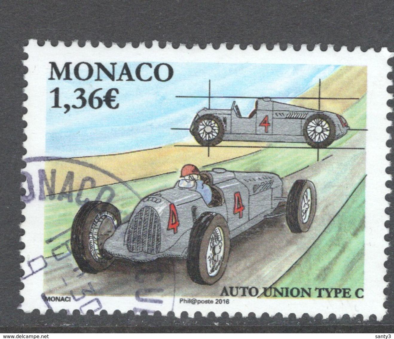 Monaco, Yv  3025 Jaar 2016,  Hogere Waarde,  Gestempeld - Used Stamps