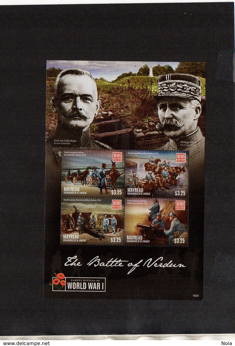 MAYREAU. MILITARY HISTORY. WWI. MNH (4R2916) - WW1