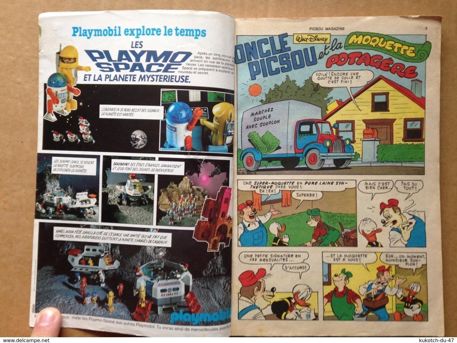 Disney - Picsou Magazine ° Année 1982 - N°128 (avec Grand Défaut D'usure) - Picsou Magazine