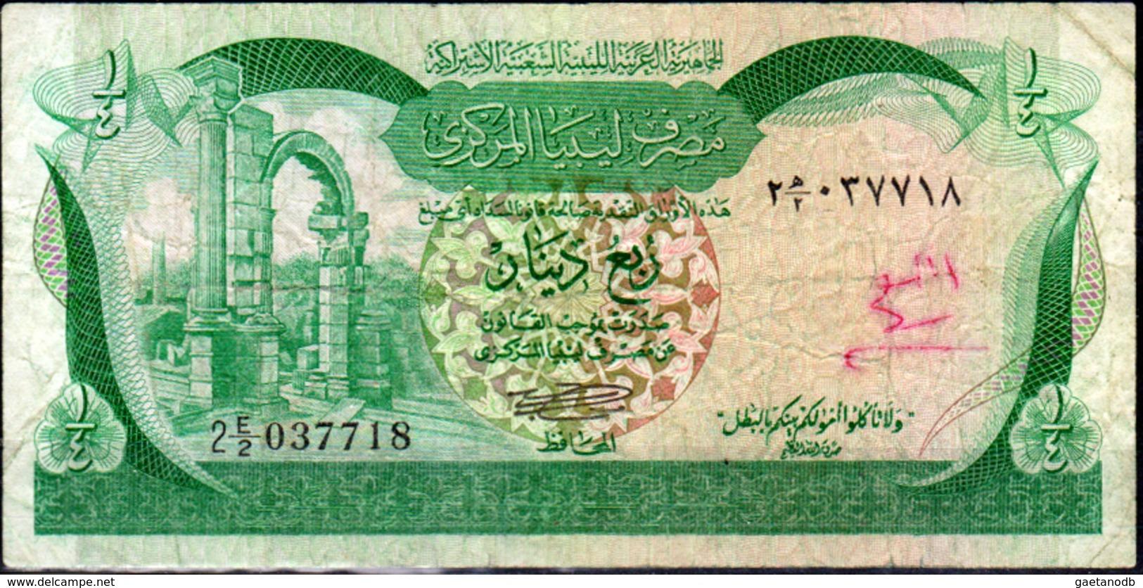 Libia-003 - Quarto Di Dinaro - - Libia