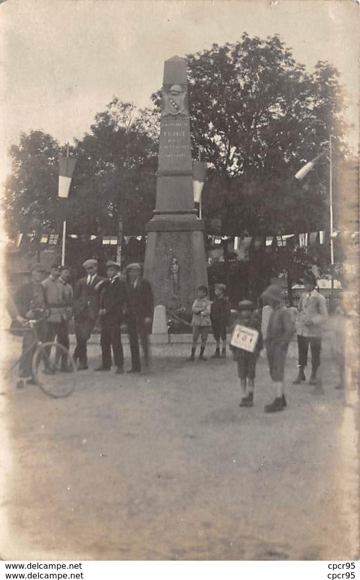 88. N°54082. FRAIZE.monument Aux Morts. Enfants. Guerre. 1918. Carte Photo - Fraize