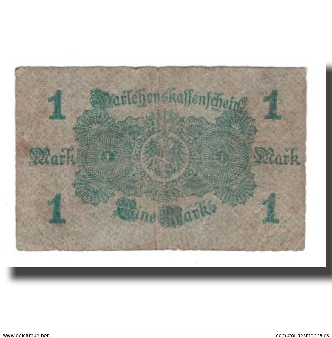 Billet, Allemagne, 1 Mark, 1914, 1914-08-12, KM:51, B - Altri