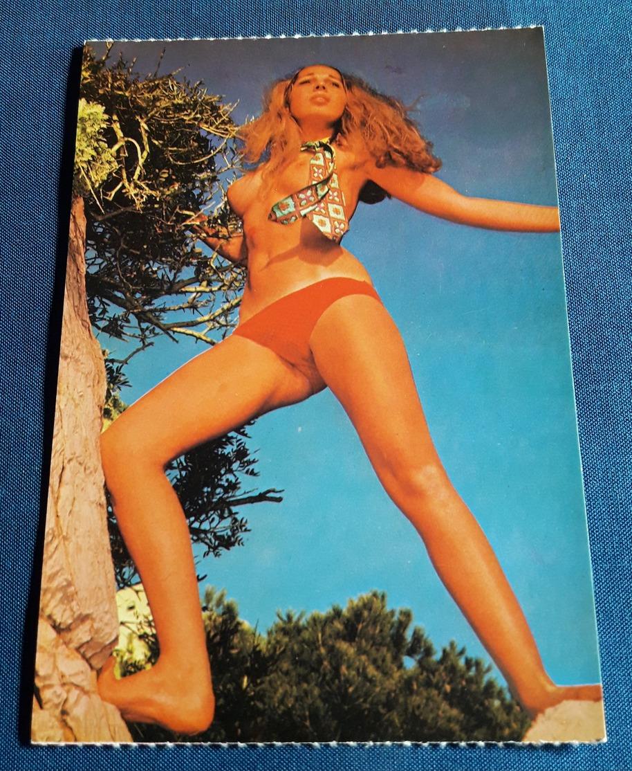Vintage Nude Pin-Up Daily Girl Press Postcard - Sexy Young Woman SOLANGE Jeune Femme Nu - Alte Erotikpostkarte (ake52) - Erotik Bis 1960 (nur Erwachsene)