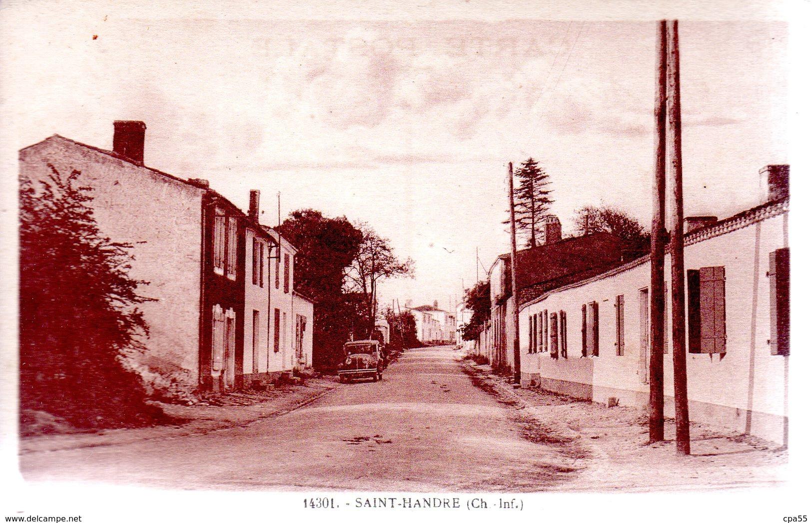 SAINT-XANDRE  -  Vue Intérieure  -  Automobile  -  N°14301 - Autres Communes