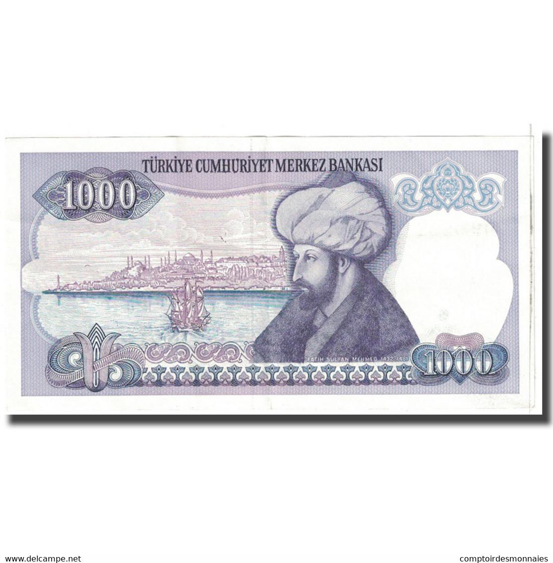 Billet, Turquie, 1000 Lira, KM:196, SUP - Turquie