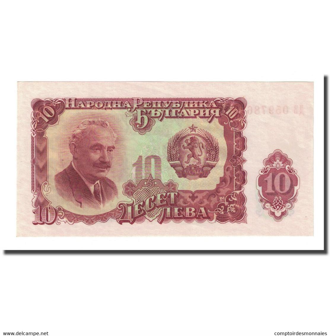 Billet, Bulgarie, 10 Leva, 1951, KM:83a, SUP - Bulgarie