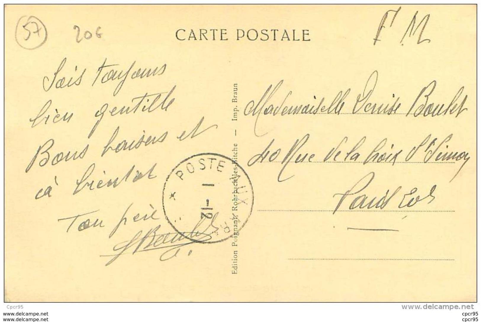 57 . N° 40957 . Petit Rederching.la Gare - France