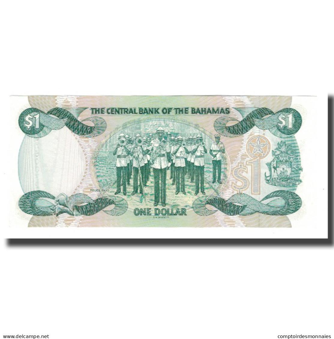Billet, Bahamas, 1 Dollar, 1974, KM:43b, SPL - Bahamas