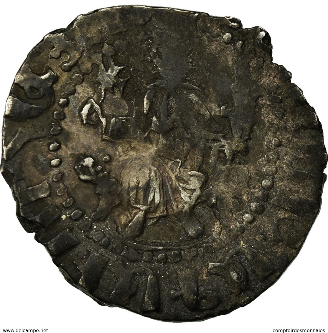 Monnaie, Armenia, Levon I, Tram, 1198-1219 AD, TB, Argent - Arménie