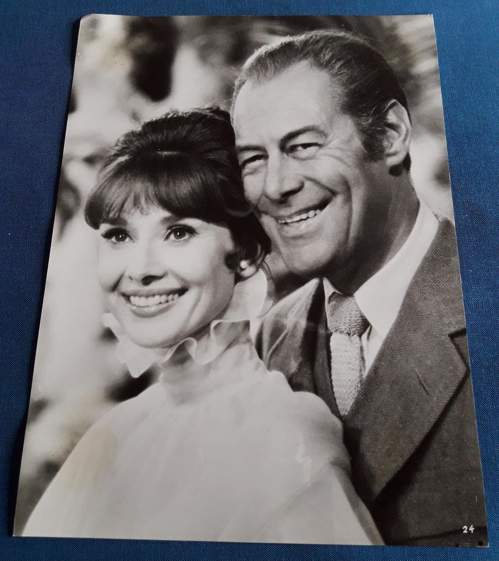 "Pressefoto AUDREY HEPBURN & REX HARRISON (Portrait) Im Film ""MY FAIR LADY"", Old Movie Photo (pf20) - Fotos"