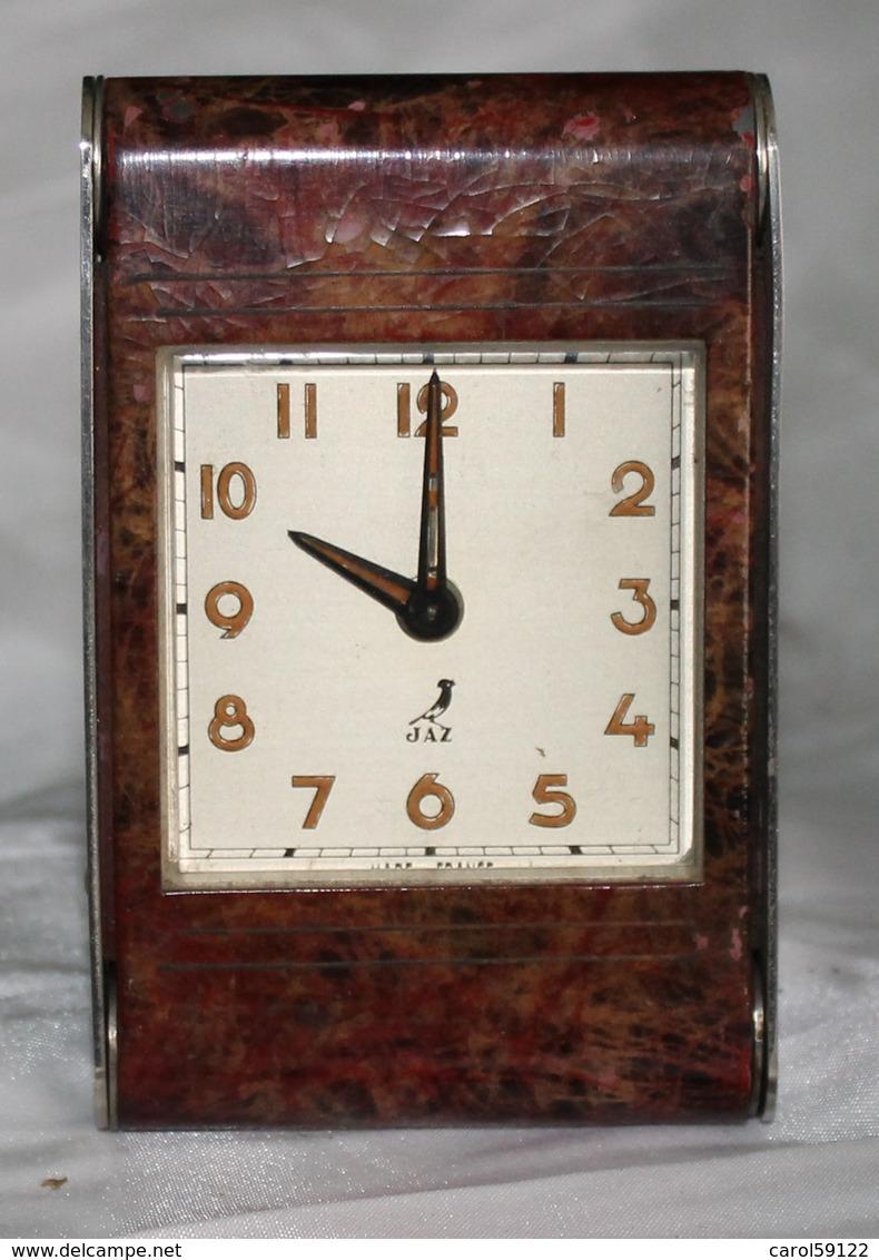 Reveil De Voyage Photic 1951 De Jaz - Alarm Clocks