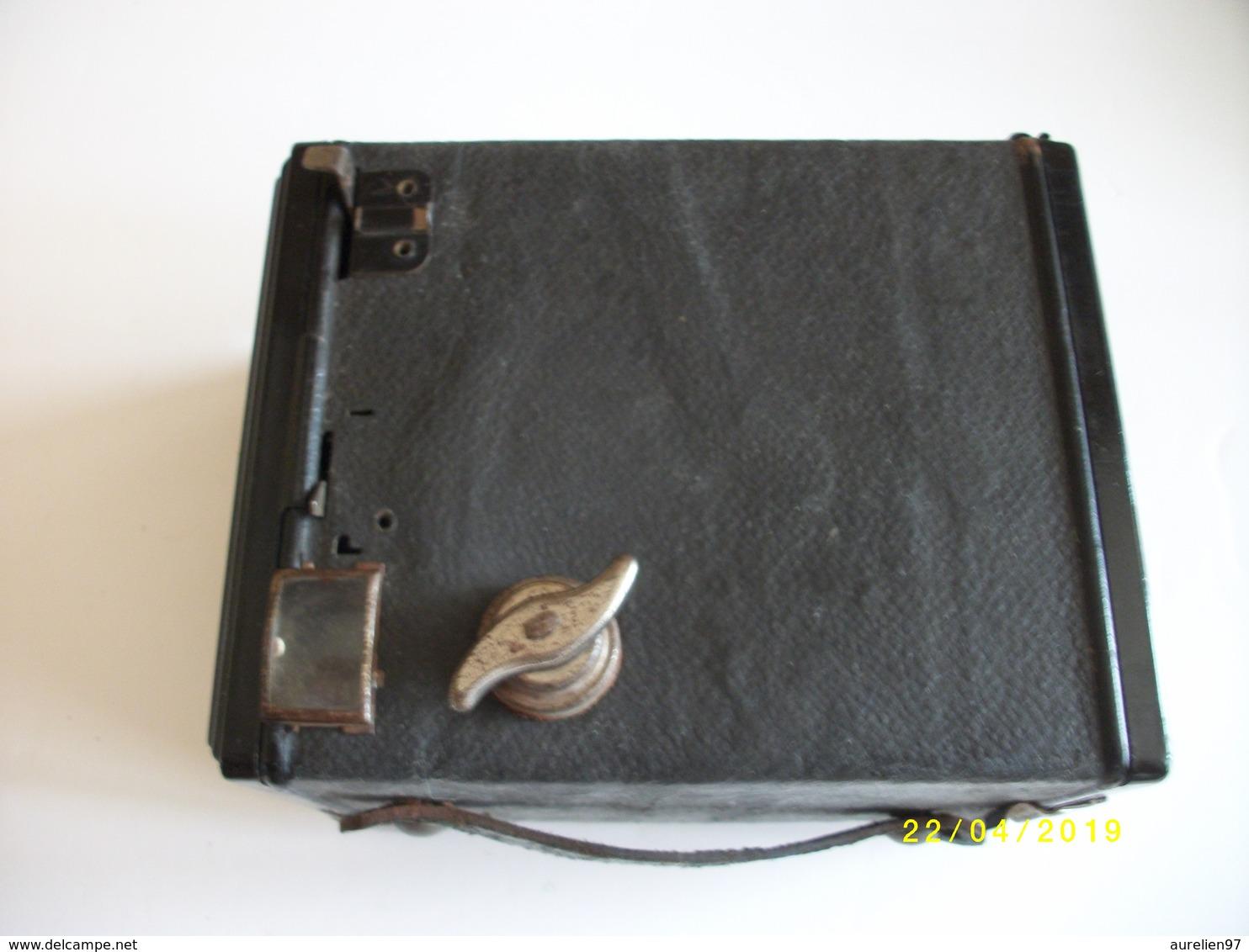 Appareil Photo Argentique Box Marque GAP Années 50 - Appareils Photo