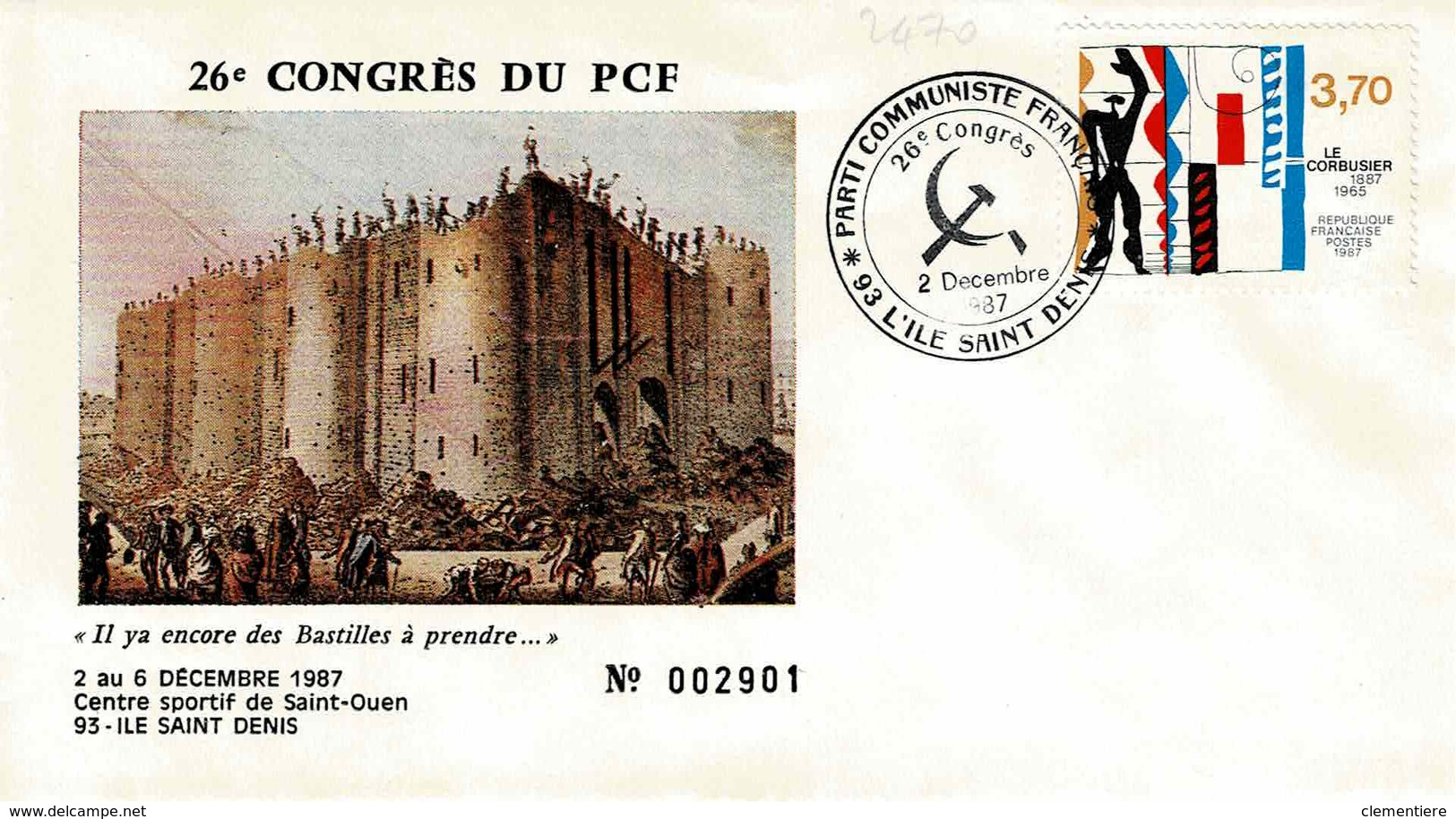 TP N° 2470 Du 26ème Congrès Du PCF - 1961-....