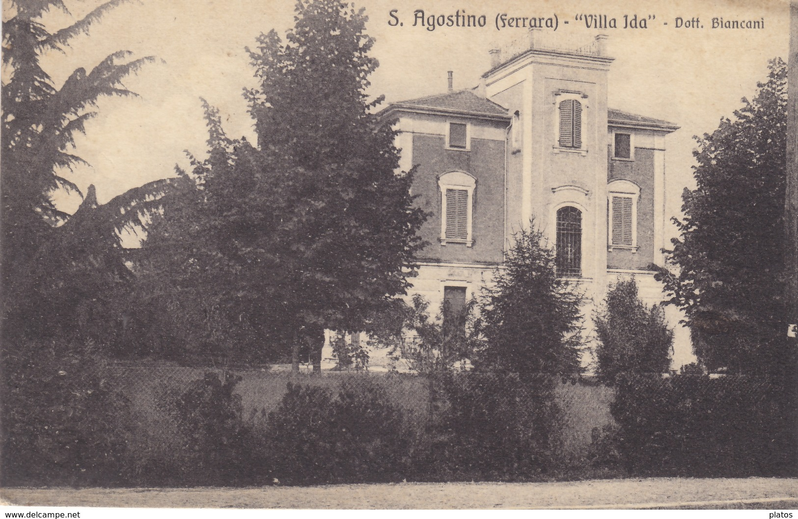 Ferrara - S. Agostino - Villa Ida - Dott. Biancani - Ferrara