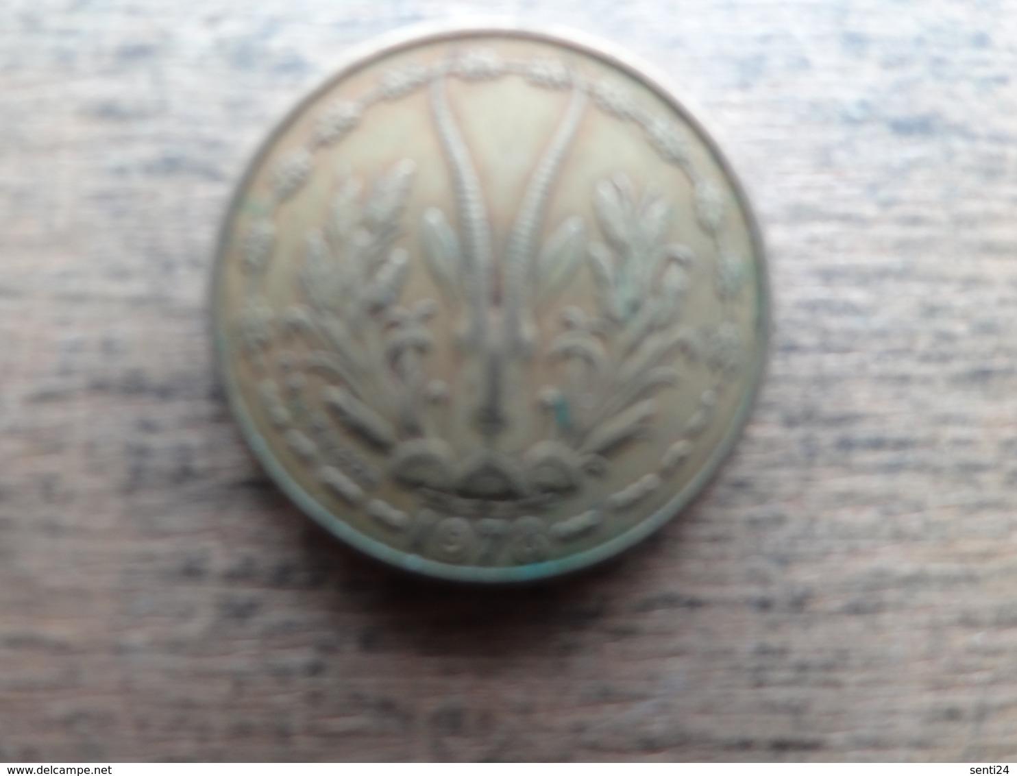 West Africa  5  Francs  1978  Km 2 A - Autres – Afrique
