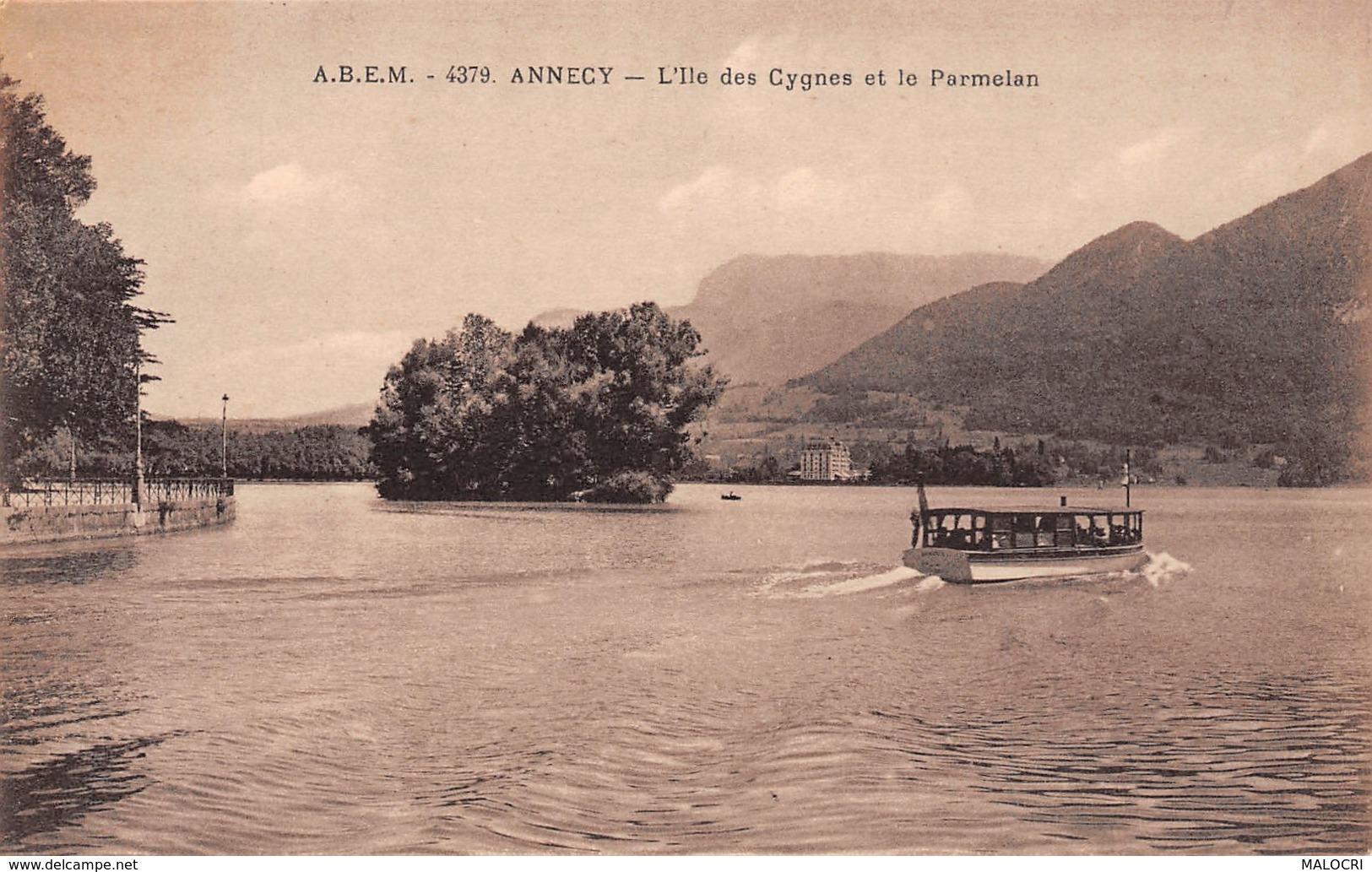74-ANNECY L ILE DES CYGNES-N°1131-G/0305 - Annecy