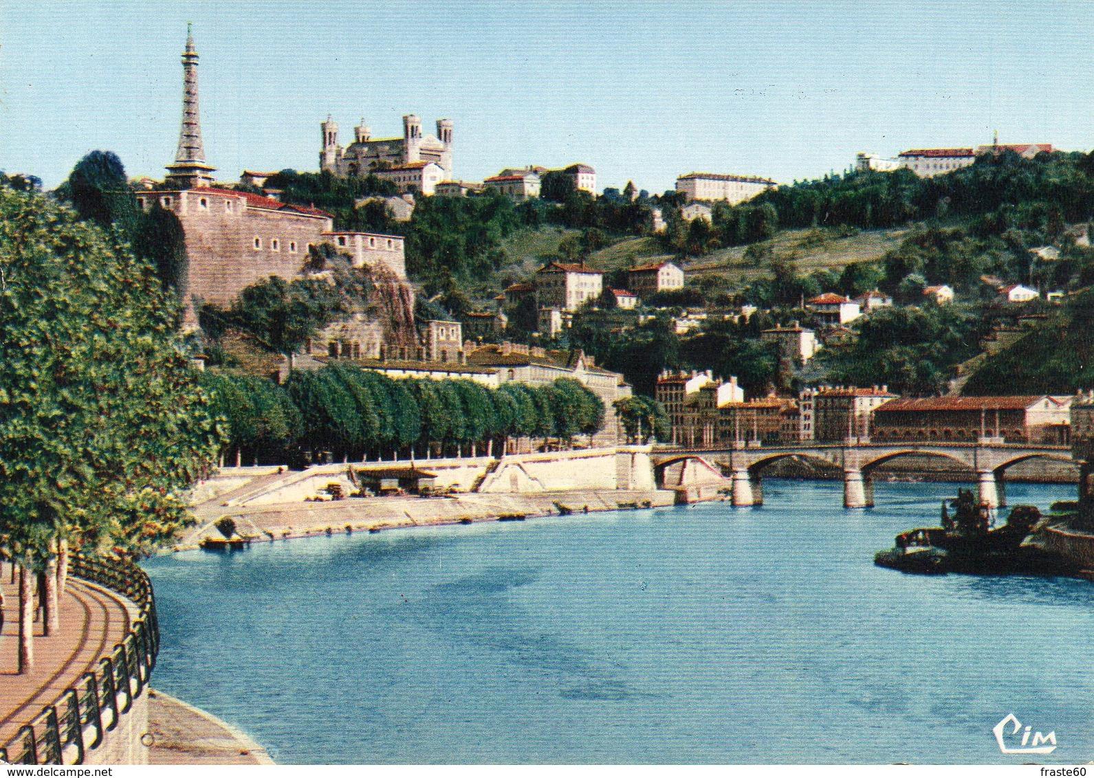 Lyon - La Saône , Pont De Serin , Quai De Serin , Fort Saint Jean - Lyon