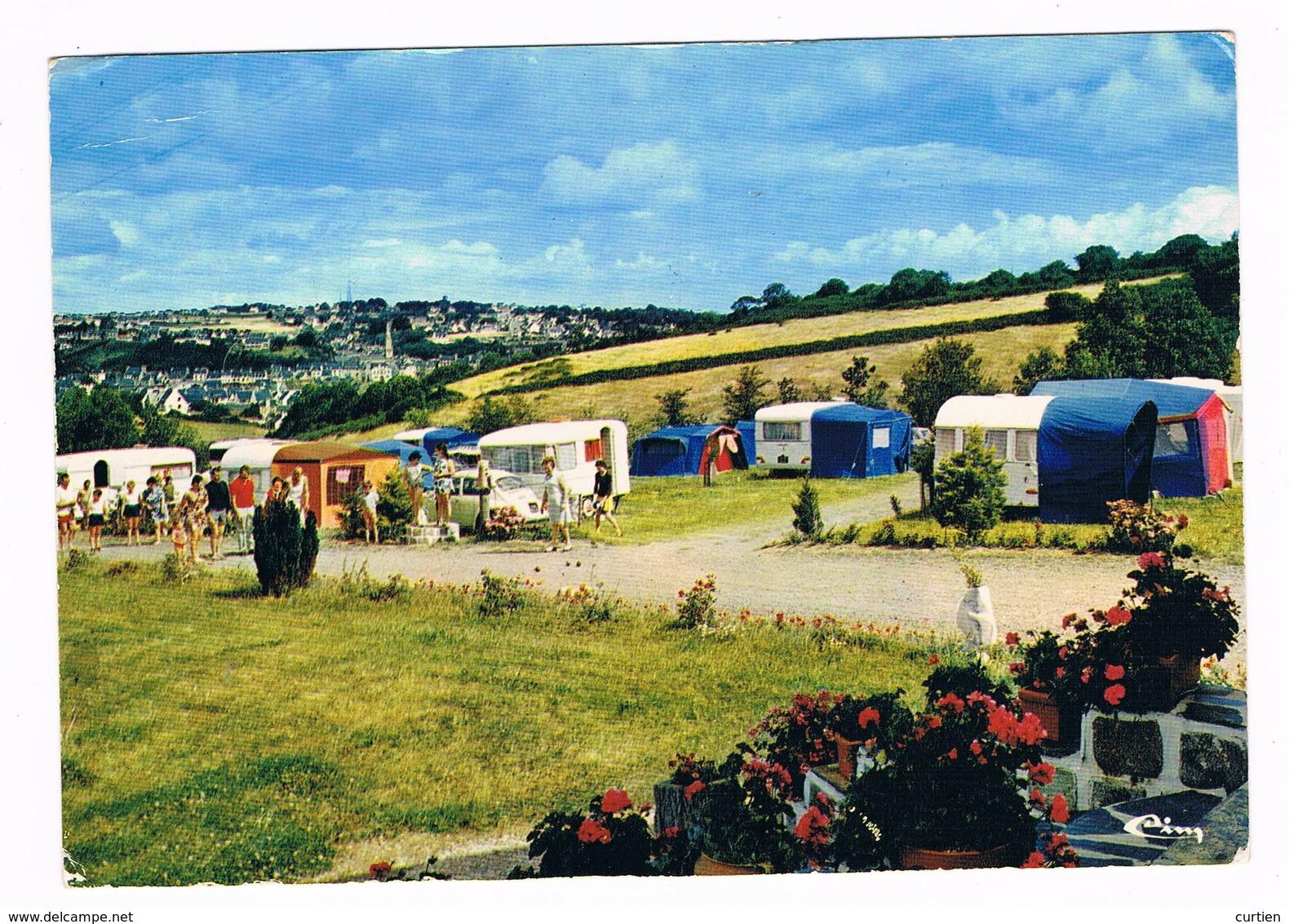 """BINIC  22  Camping """" Le Panoramic """". 1975 - Binic"""
