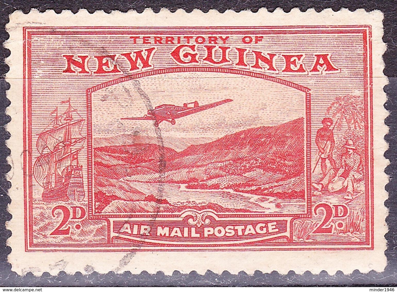 NEW GUINEA 1939 2d Vermillion SG215 Fine Used - Papua Nuova Guinea