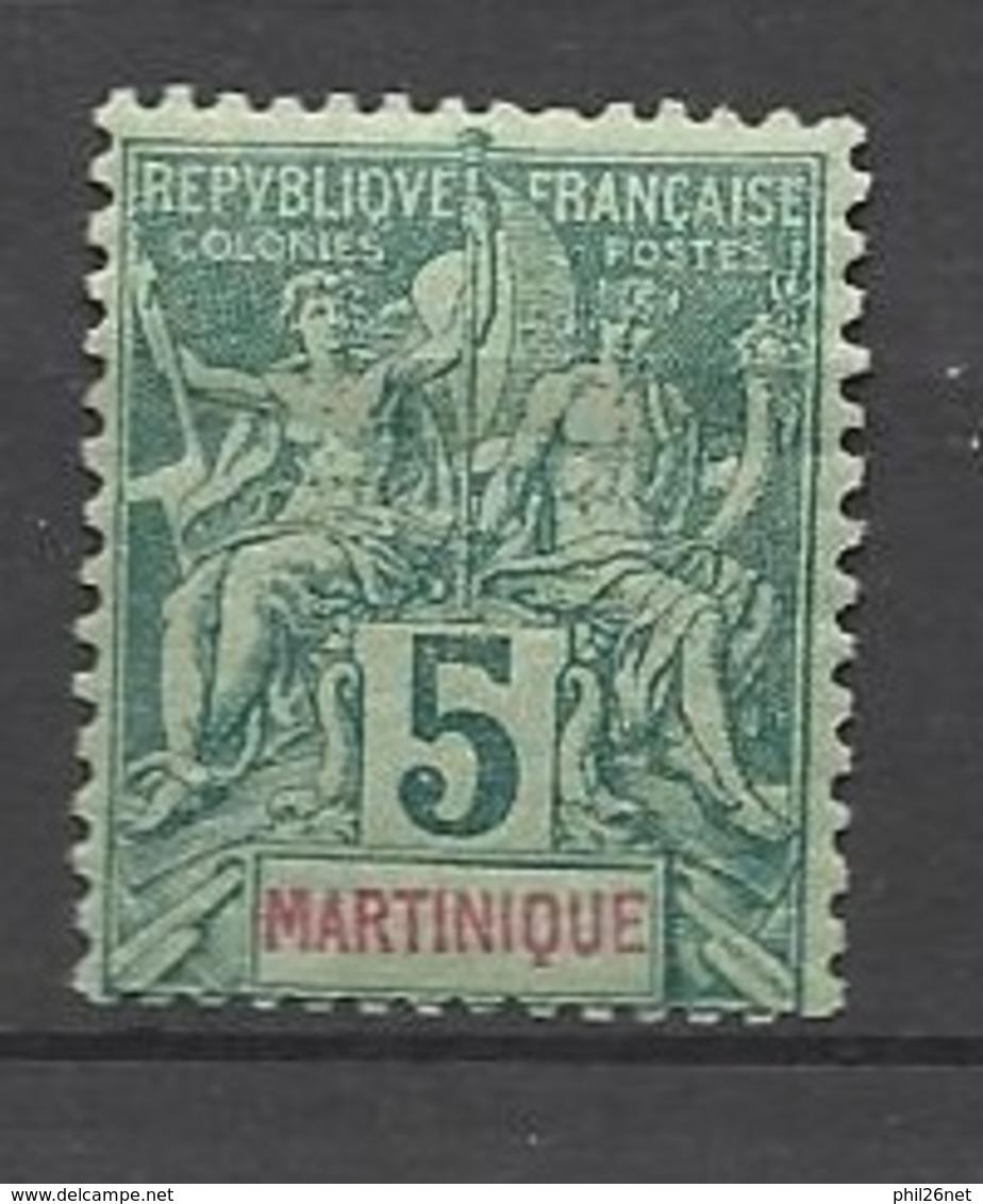 Martinique N°34     Neuf  *   B/TB    Soldé  à Moins De  20  % ! ! ! - Ungebraucht