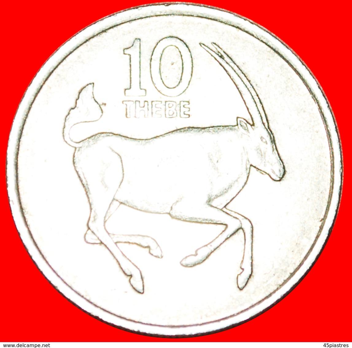 + GREAT BRITAIN (1976-1989): BOTSWANA ★ 10 THEBE 1977 FAO! LOW START ★ NO RESERVE! - Botswana