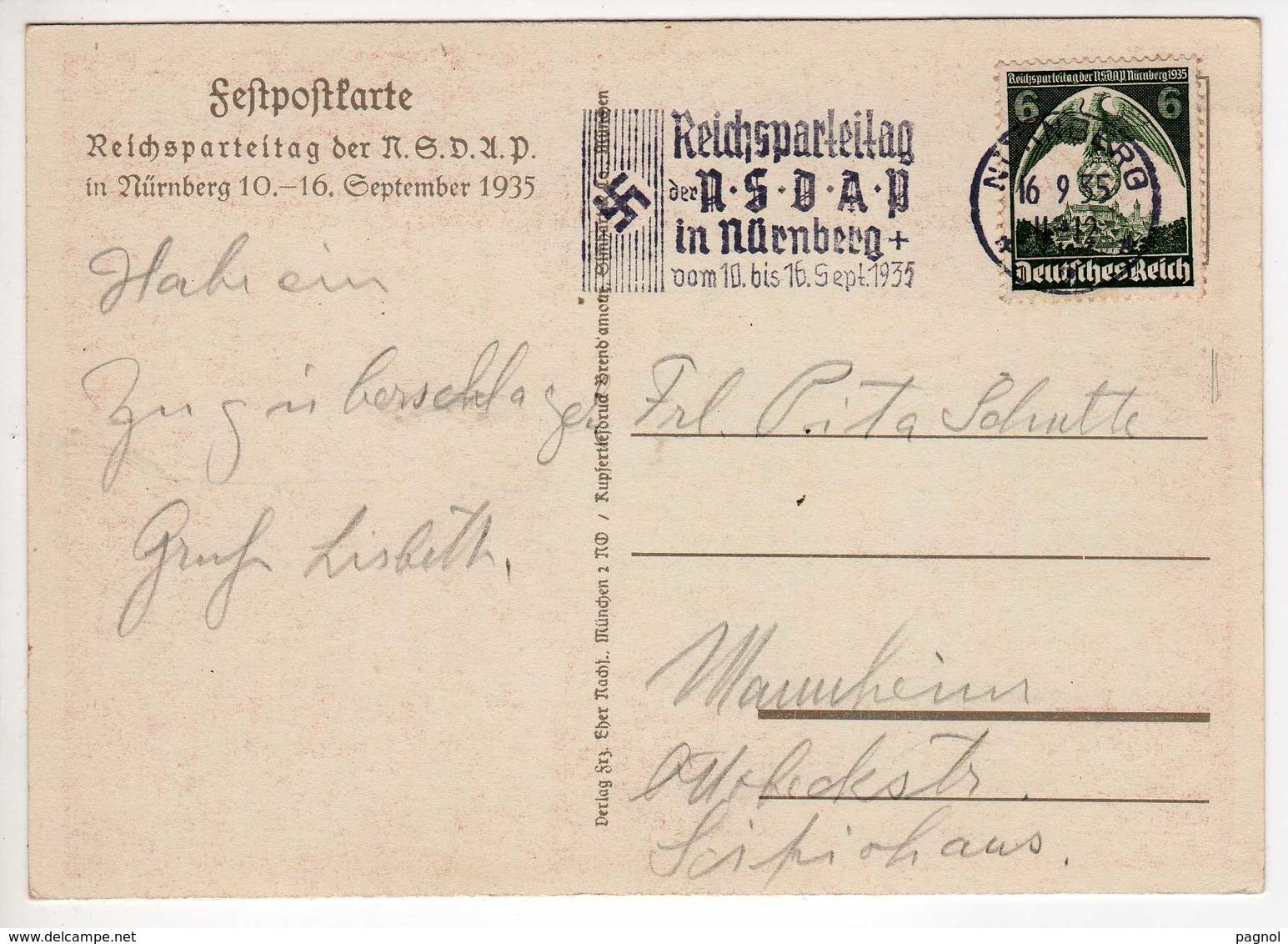 Allemagne : III Reich : Nürnberg : 10-16 / 09 / 1935 : Reichsparteitag - Nürnberg