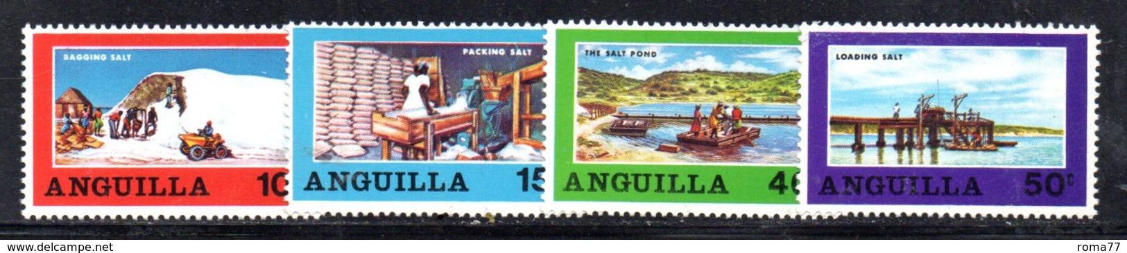 APR716 - ANGUILLA 1969, Yvert Serie N. 33/36  ***  MNH  (2380A) - Anguilla (1968-...)