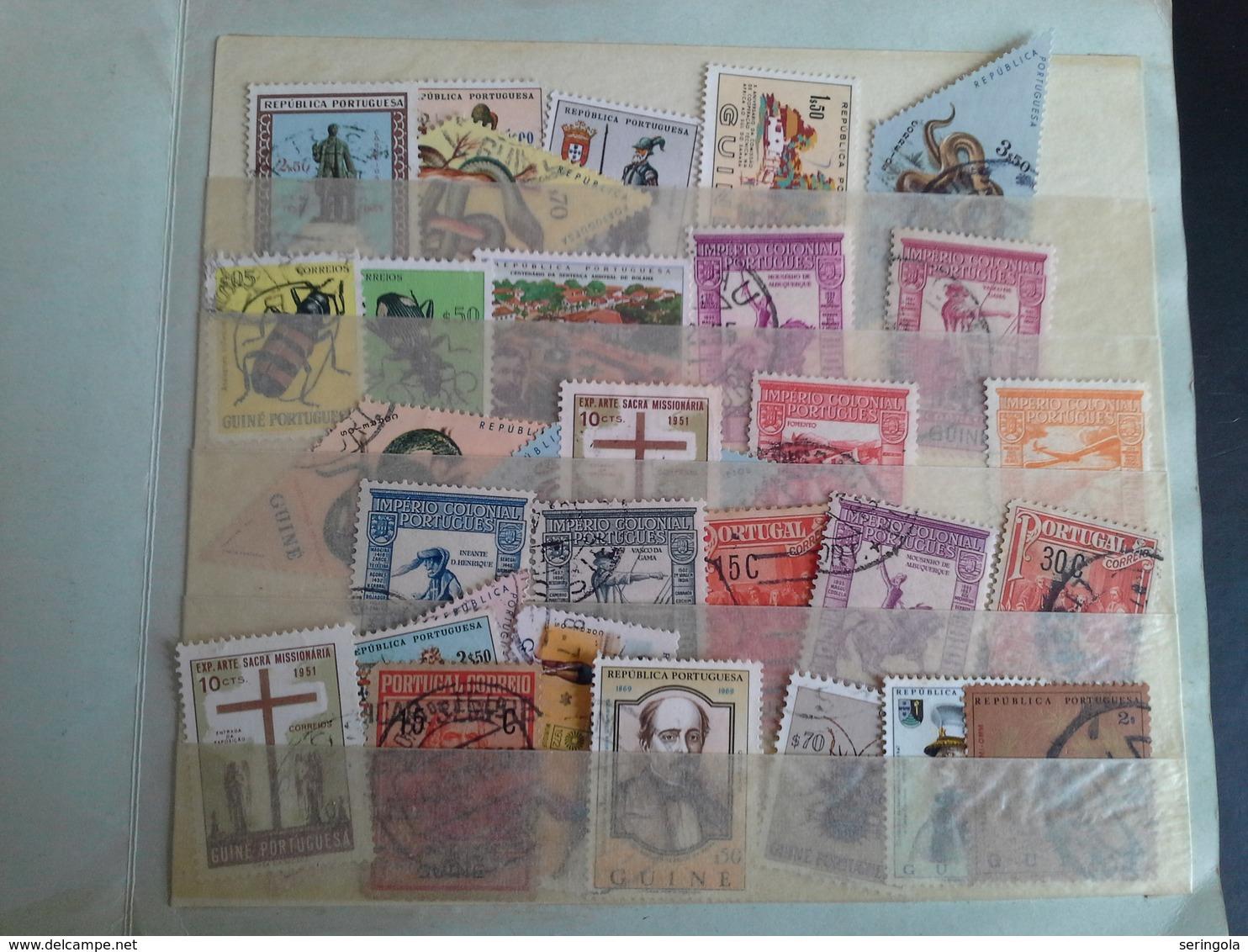 Lot 110 Stamps Colonias Portuguesas - Sammlungen (ohne Album)