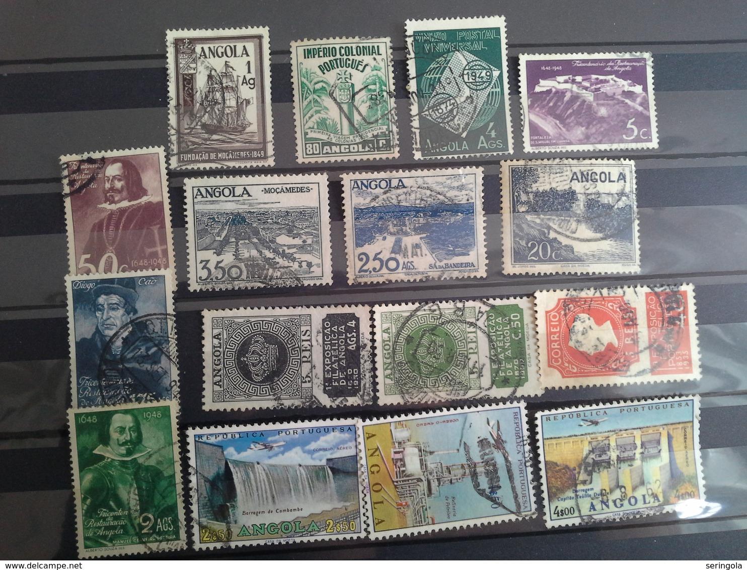 Lot 90 Stamps Angola  Portuguesa - Briefmarken