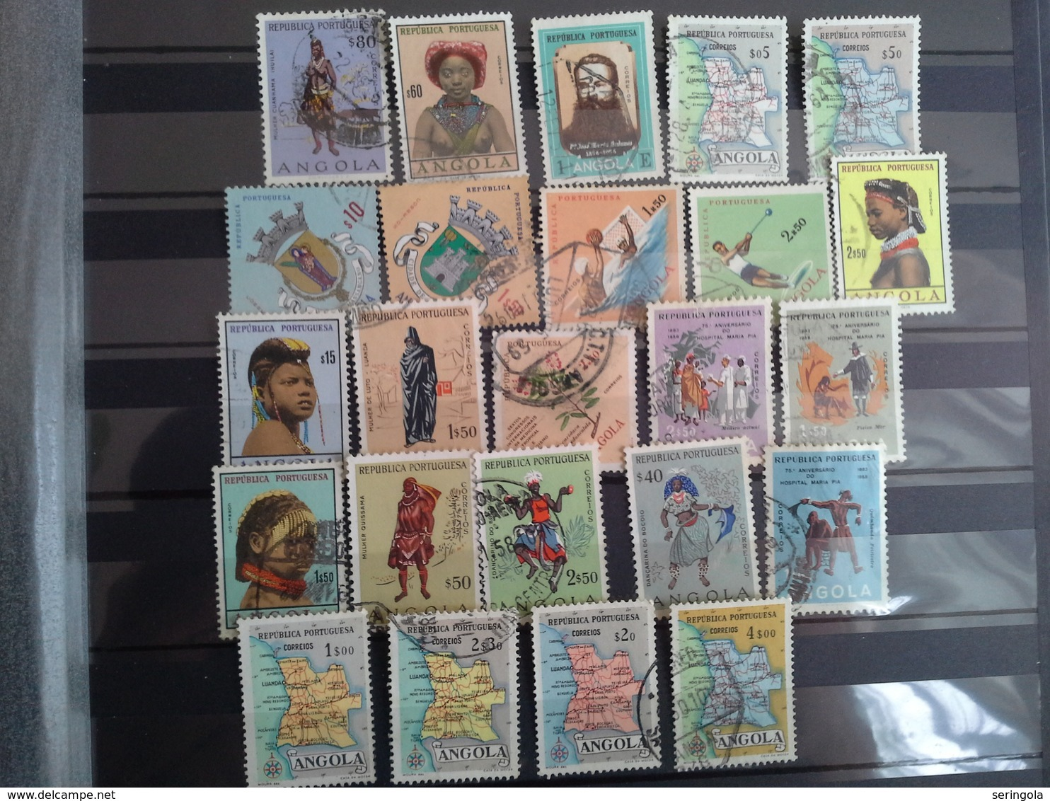 Lot 90 Stamps Angola  Portuguesa - Sammlungen (ohne Album)