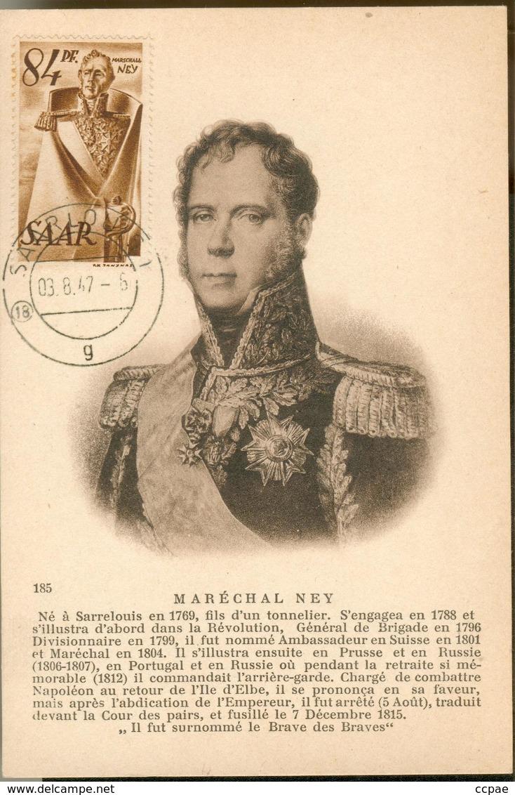 Carte Maximum - Maréchal Ney - Germany