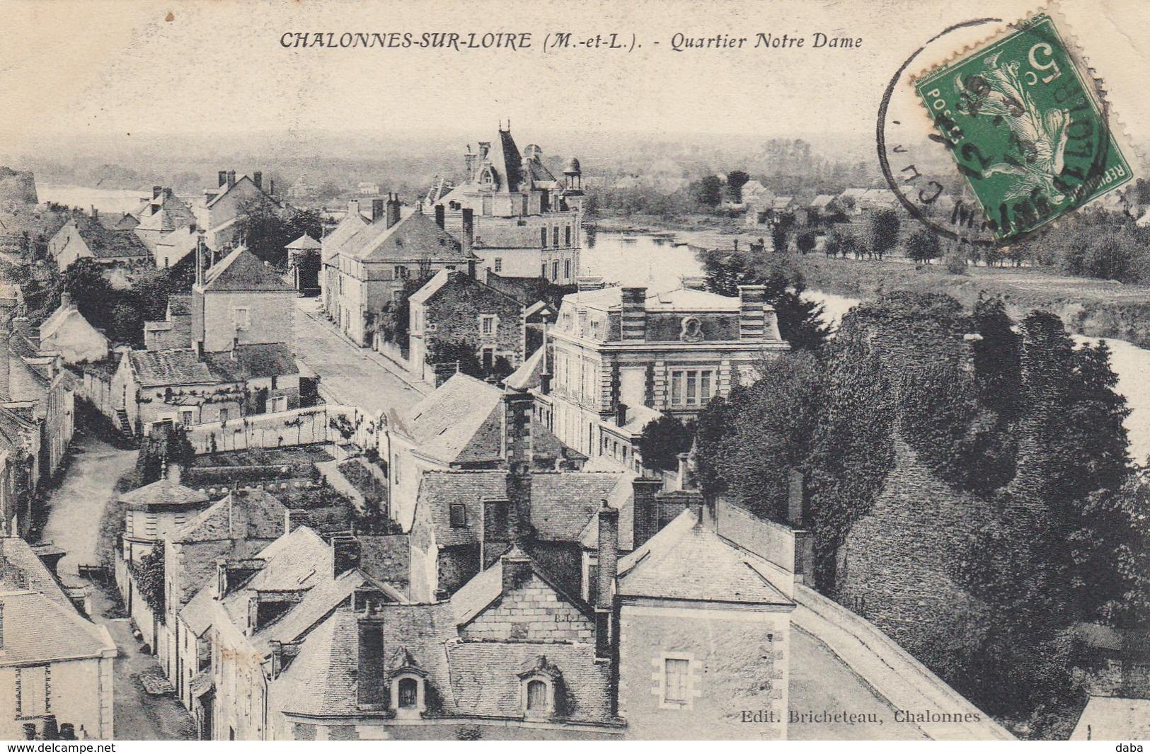 Chalonnes-sur-Loire.  Quartier Notre-Dame - Chalonnes Sur Loire